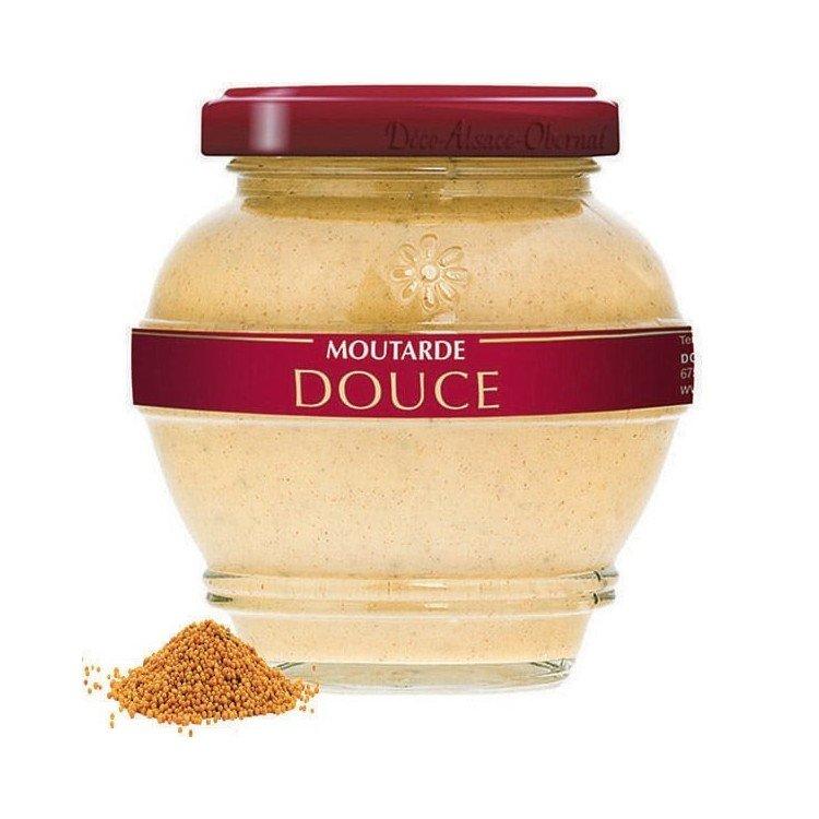Découvrez Moutarde Authentique d'Alsace Originale au Magasin La Boite aux Trésors à Obernai