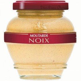 Moutarde Gastronomique d'Alsace aux Noix La Boite aux Trésors à Obernai