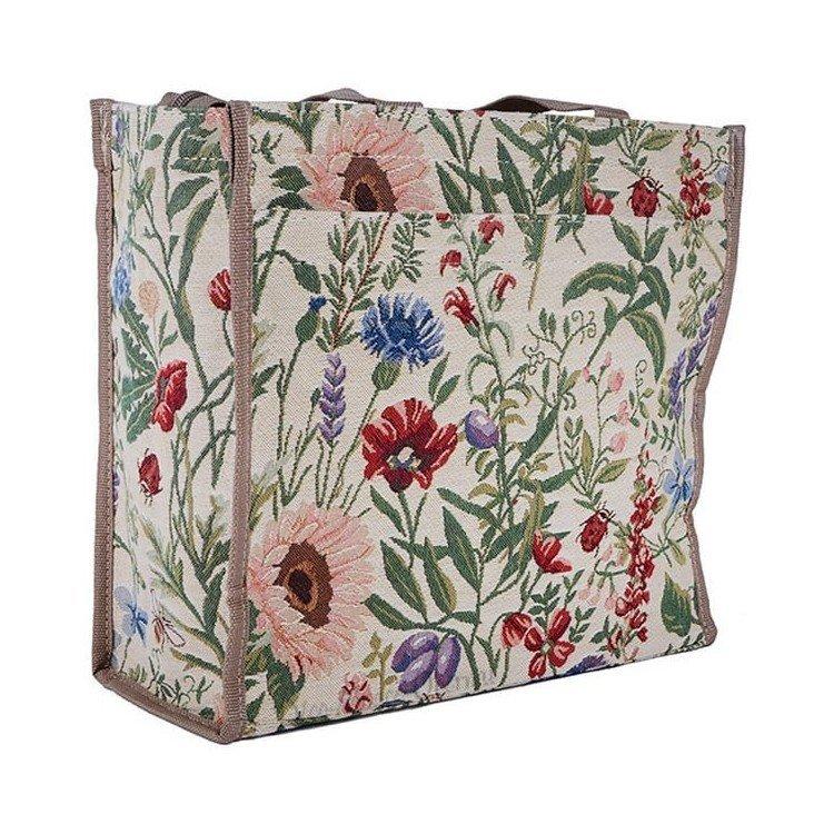 Retrouvez Sac Bandoulière motif Fleurs du Jardin en Tapisserie à Obernai