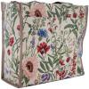 Schultertasche Garten-Blumen-Muster Tapestry