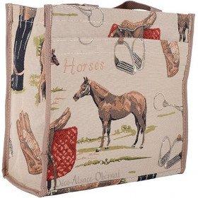 Bag Erdungsband Pferde Tapisserie