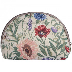Reißverschluss-Tasche Garten-Blumen-Muster Tapestry in La Boite aux Trésors in