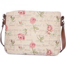 Handtasche Körper Rose Muster Blumen Tapestry