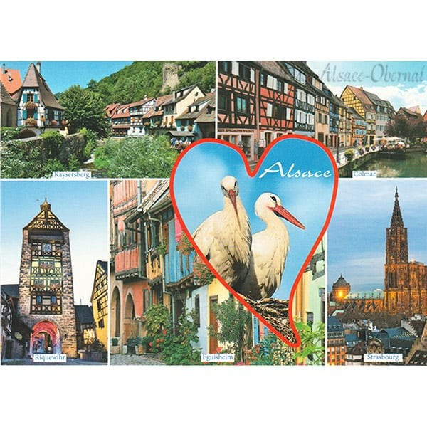 carte postale love alsace et ses villages typiques d 39 alsace obernai. Black Bedroom Furniture Sets. Home Design Ideas