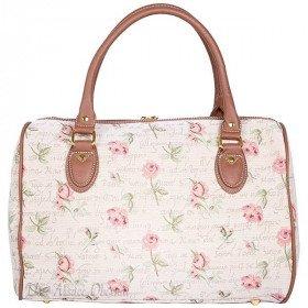 Rose Muster Reisetasche Blumen Wandteppich