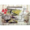 Planche à découper décor Route des Vins d'Alsace