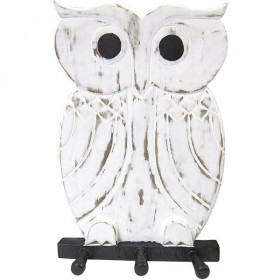 Mantel Tür Holz Owl gebleichte Wirkung in La Boite aux Trésors in Obernai