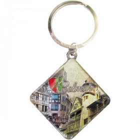 Schlüsselanhänger Raute Stadt Colmar