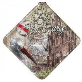 Schlüsselanhänger Raute Stadt Straßburg in La Boite aux Trésors in Obernai
