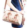 Handtasche mit Rosenmuster Pompon Blumen Wandteppich
