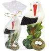 Große Kerze geformt Stork Alsace