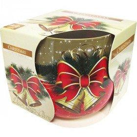 Bougie de Noël Christmas parfumée La Boite aux Trésors à Obernai