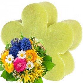 Savon Naturel Coeur Bouquet Printanier à La Boite aux Trésors à Obernai