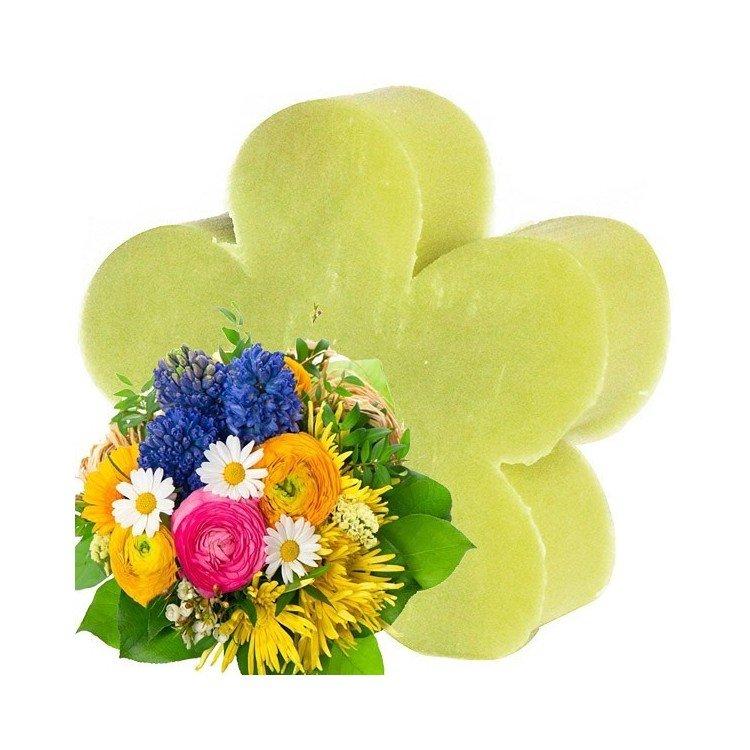 Savon Naturel Coeur Bouquet Printanier