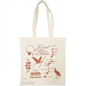Tote Bag en Coton Route des Vins