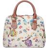Handtasche mit Eulen-Muster Griff Tapestry