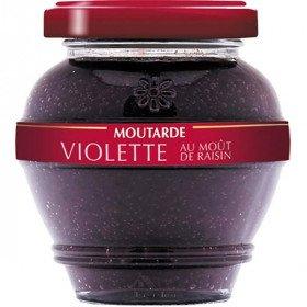 Moutarde Épicurienne d'Alsace Violette au Moût de Raisin La Boite aux Trésors à Obernai
