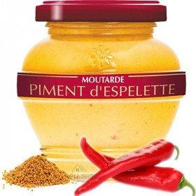 Moutarde Estivale d'Alsace au Piment d'Espelette