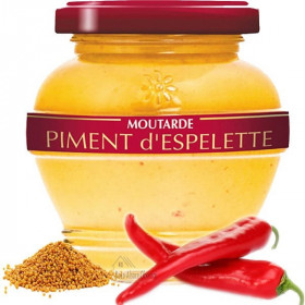 Sommer Senf aus dem Elsass mit Chili Espelette in La Boite aux Trésors in