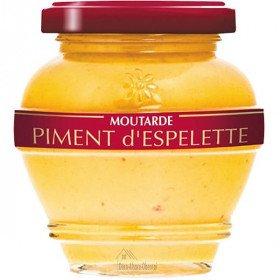Moutarde Estivale d'Alsace au Piment d'Espelette La Boite aux Trésors à Obernai
