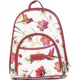 Hummingbird Bird Pattern Tapestry Backpack