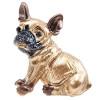Goldene Brosche Fancy Hund Französisch Bulldog Strass