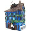 Magnet Décoratif Maison d'Alsace avec Tourelle Bleue