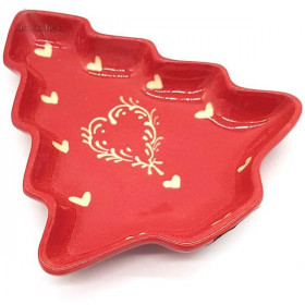 Cup Form Baumdekoration Red Heart Ivory Soufflenheim