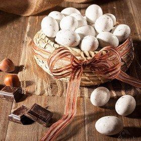 Süßwaren Eier Störche im Elsass Onkel Hansi in La Boite aux Trésors in Obernai