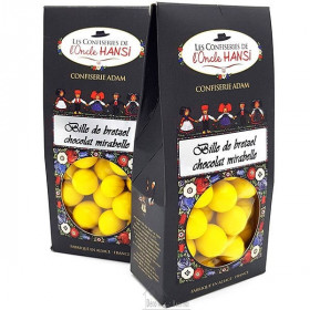 Confiserie Billes de Bretzel, Chocolat et Mirabelle de l'Oncle Hansi