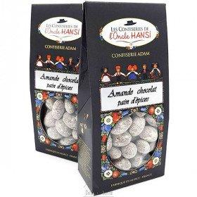 Confectionery Mandeln und Schokolade Lebkuchen Onkel Hansi