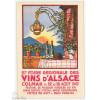 Carte Postale Hansi Affiche Foire des Vins d'Alsace