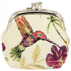 Purse Muster Vogel Hummingbird Tapestry