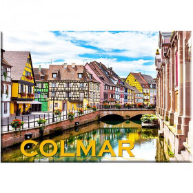 Dekorative Magnet Klein-Venedig in Colmar
