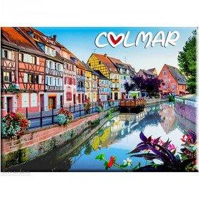 Magnet Décoratif La Petite Venise Touristique à Colmar
