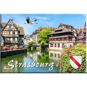 Magnet Décoratif La Petite France à Strasbourg