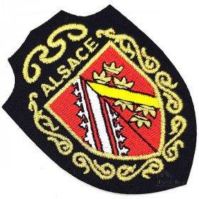 Kamm bewaffnet Emblem des Elsass Verschmelzen in La Boite aux Trésors in Obernai