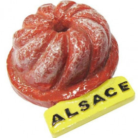 Magnet Dekorativer Kougelhopf Alsace