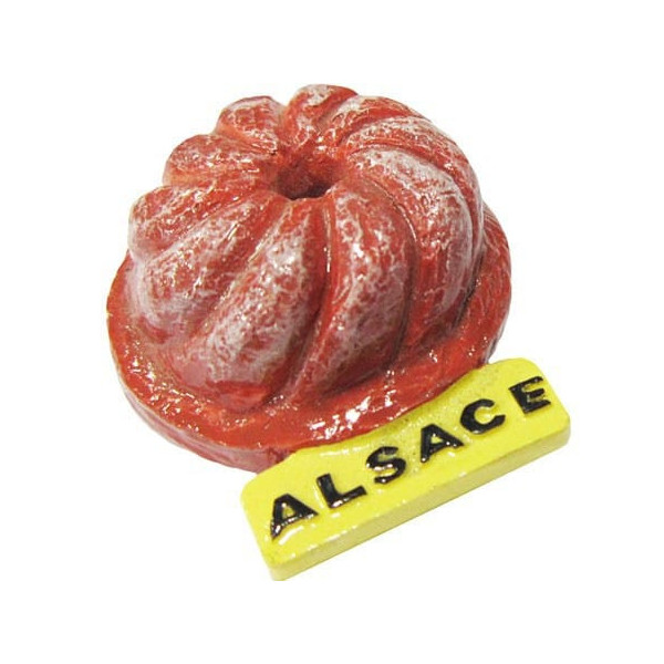 Retrouvez Magnet Décoratif Kougelhopf d'Alsace à Obernai