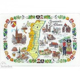 Planche à découper Village et Souvenirs d'Alsace