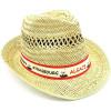 Chapeau en Paille avec Villages d'Alsace
