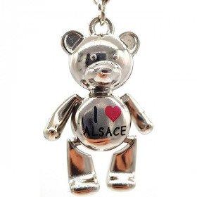 Schlüsselanhänger Pooh Gelenk I love Alsace