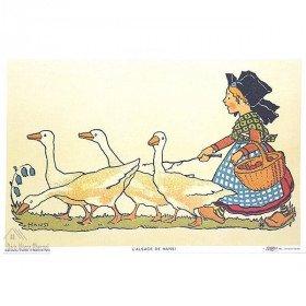 Die Post Hansi Gardeuse 43cm x 28cm Goose