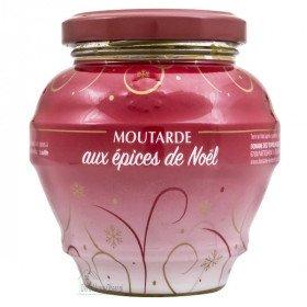 Moutarde d'Alsace au Épices de Noël La Boite aux Trésors à Obernai