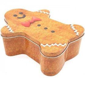 Mannele Tin Box in Gingerbread