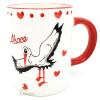 Mug en Céramique décor Cigogne d'Alsace