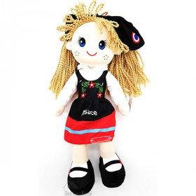 Weiche elsässische Puppe 35 cm