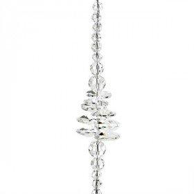 Engel Fensterdekoration mit Perlen und Kristallherz in La Boite aux Trésors in
