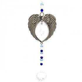 Décoration Ailes d'Ange avec sphère en Cristal
