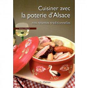 Rezept-Buchkoch mit Elsass-Keramik